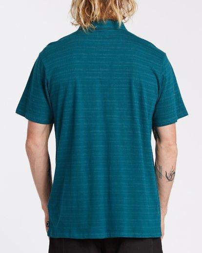 2 Standard Issue Polo Shirt Blue M9181BST Billabong