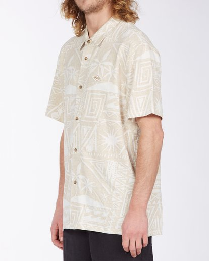 1 Loafer Button Up Shirt Multicolor M9183BLO Billabong