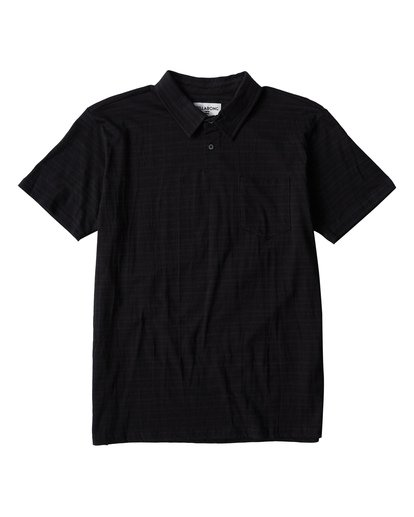 0 Standard Issue Polo Black M918VBST Billabong