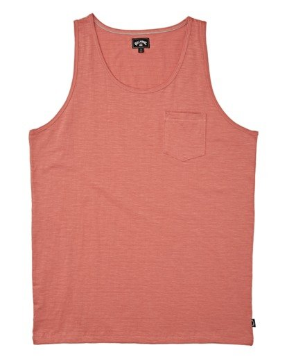 3 Mesa Slub Tank Orange M9851BMT Billabong