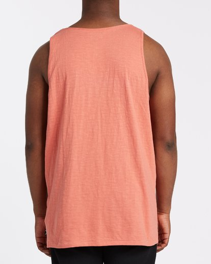 2 Mesa Slub Tank Orange M9851BMT Billabong
