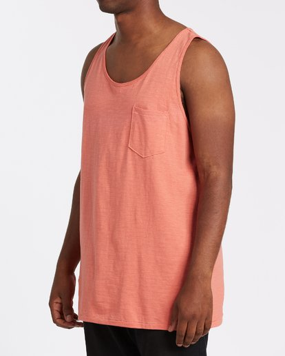 1 Mesa Slub Tank Orange M9851BMT Billabong