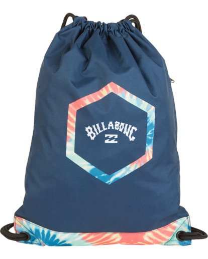 0 All Day Cinch Backpack Grey MABK1BAC Billabong