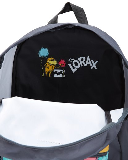 4 Lorax All Day Backpack Black MABK2BLO Billabong