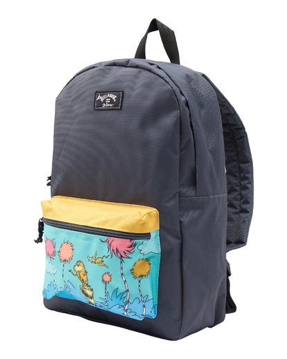 1 Lorax All Day Backpack Black MABK2BLO Billabong