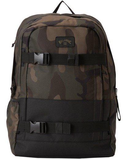 0 Command Skate Backpack Black MABK3BCK Billabong