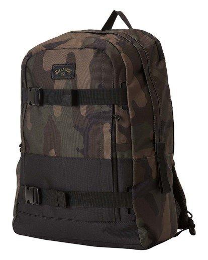 2 Command Skate Backpack Black MABK3BCK Billabong