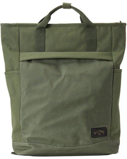 3 Pace Tote Backpack Green MABK3BPA Billabong
