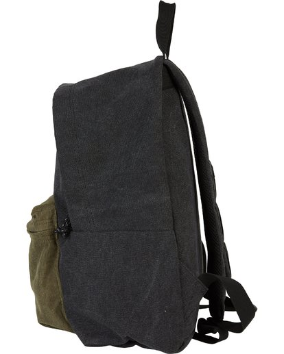 1 All Day Canvas Washed Canvas Backpack Grey MABKSBAD Billabong