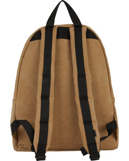 2 All Day Canvas Washed Canvas Backpack Brown MABKSBAD Billabong