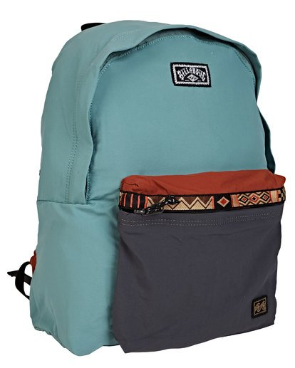 1 All Day Atlas Backpack Green MABKTBAP Billabong