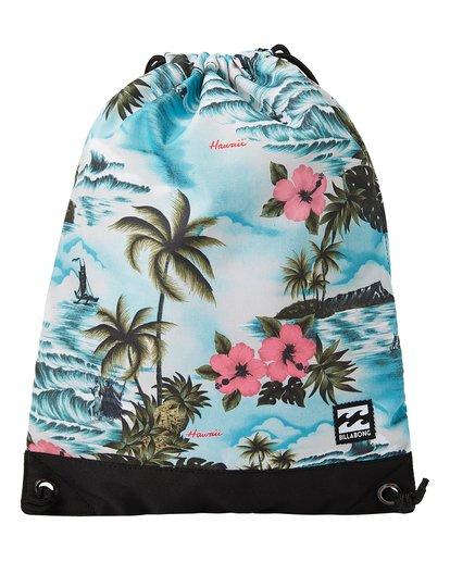 0 Hawaii Cinch Sack Backpack Green MABKTBHR Billabong