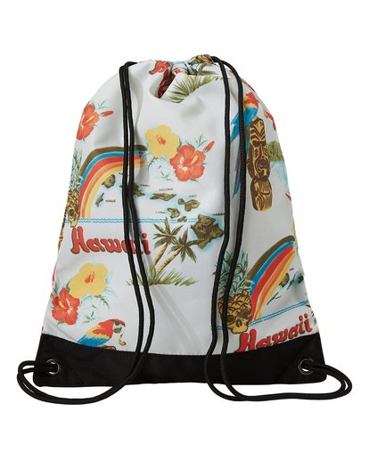 1 Hawaii Cinch Sack Backpack Brown MABKTBHR Billabong