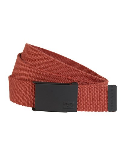 1 Cog Belt Red MABLVBCO Billabong