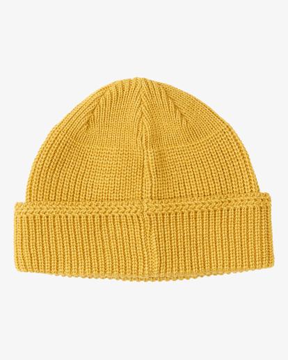 1 A/DIV Cuff Beanie Yellow MABN3BAV Billabong