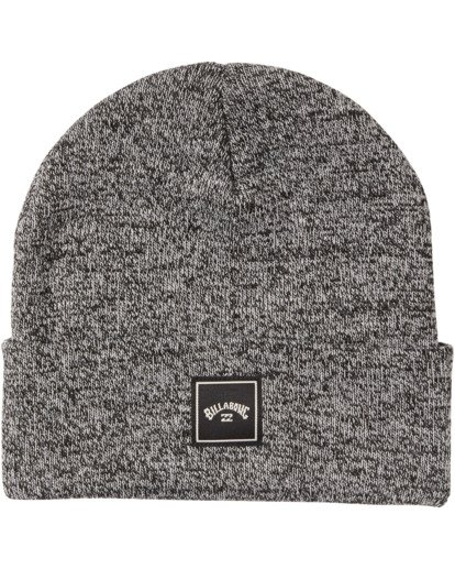 2 Stacked Heather Beanie Black MABN3BSH Billabong