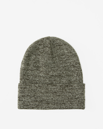1 Stacked Heather Beanie Black MABN3BSH Billabong