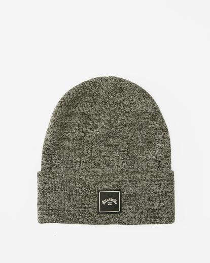 0 Stacked Heather Beanie Black MABN3BSH Billabong