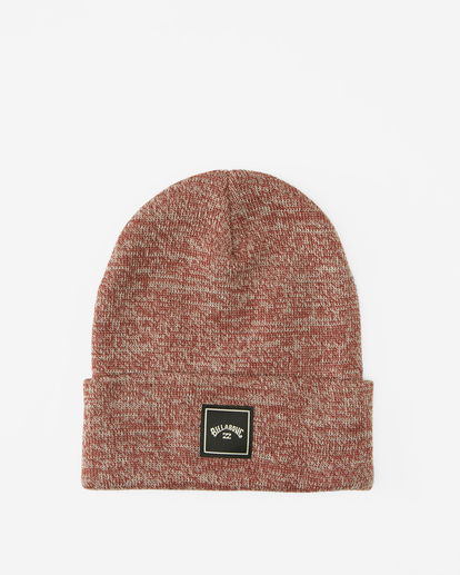 0 Stacked Heather Beanie Red MABN3BSH Billabong
