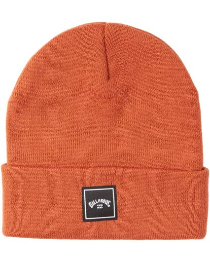 2 Stacked Beanie Red MABN3BST Billabong
