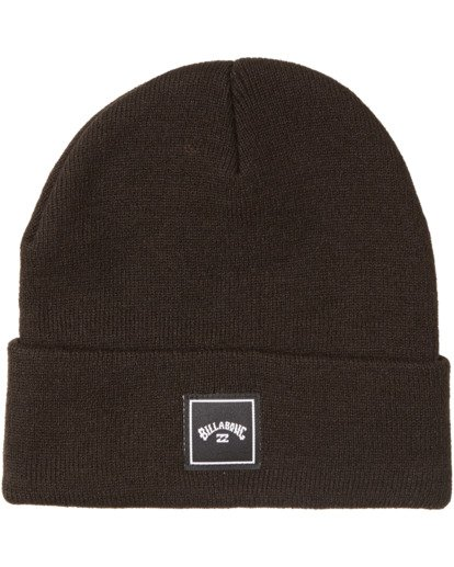 2 Stacked Beanie Black MABN3BST Billabong
