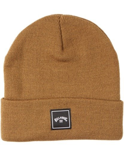 2 Stacked Beanie Brown MABN3BST Billabong
