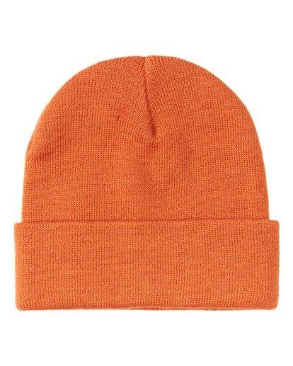 1 Stacked Beanie Orange MABN3BST Billabong