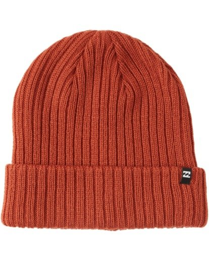 1 Arcade Beanie Red MABNQBAR Billabong