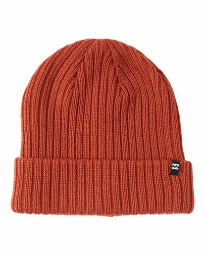 0 Arcade Beanie Red MABNQBAR Billabong