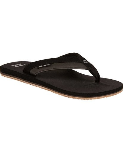 1 All Day Impact Sandals Black MAFTAADI Billabong