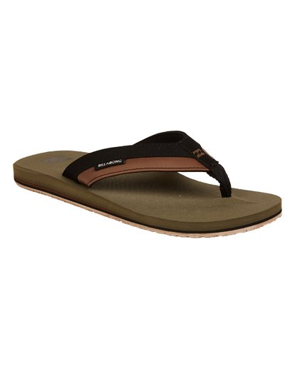 3 All Day Impact Sandals Green MAFTAADI Billabong