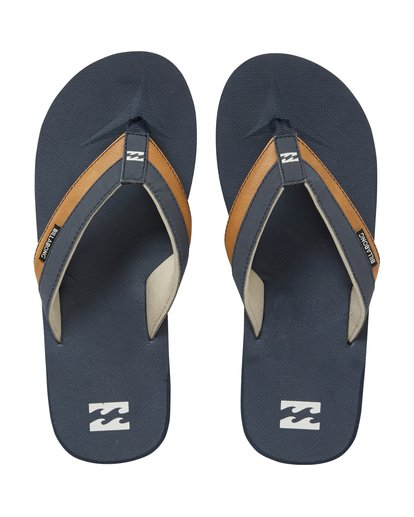 1 All Day Impact Sandals Blue MAFTAADI Billabong