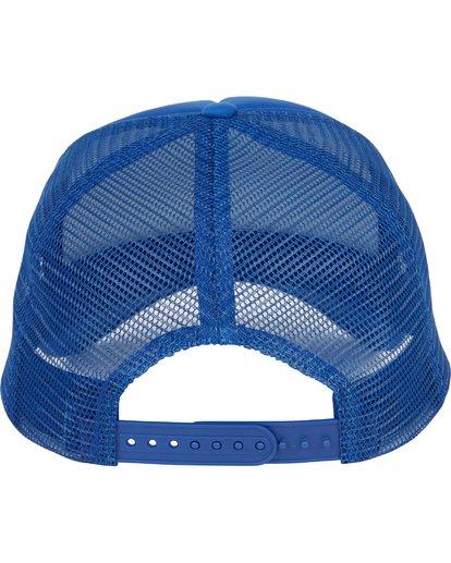 3 Podium Trucker Hat Blue MAHTGPOD Billabong
