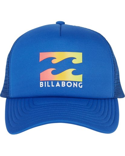1 Podium Trucker Hat Blue MAHTGPOD Billabong