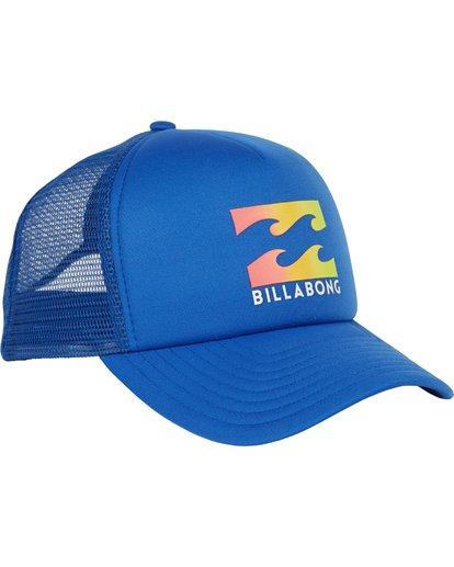 2 Podium Trucker Hat Blue MAHTGPOD Billabong