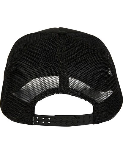 3 Podium Trucker Hat Black MAHTGPOD Billabong