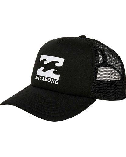 Billabong All Day Trucker in Black Grey Free Postage
