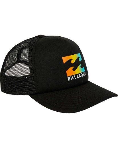 2 Podium Trucker Hat Black MAHTGPOD Billabong