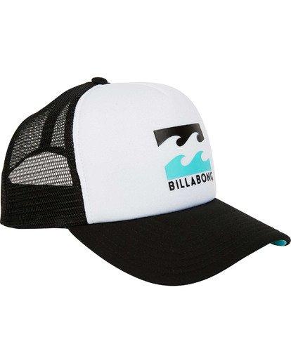 2 Podium Trucker Hat White MAHTGPOD Billabong