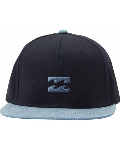 1 All Day Snapback Hat Blue MAHTLADS Billabong