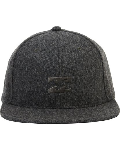 1 All Day Heather Snapback Hat Grey MAHTLAHS Billabong