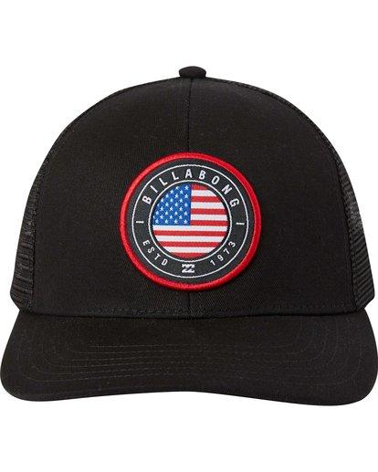 1 Native Rotor Trucker Hat  MAHTLNAR Billabong