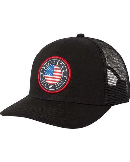 0 Native Rotor Trucker Hat  MAHTLNAR Billabong