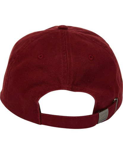 3 All Day Lad Cap Red MAHTMADL Billabong