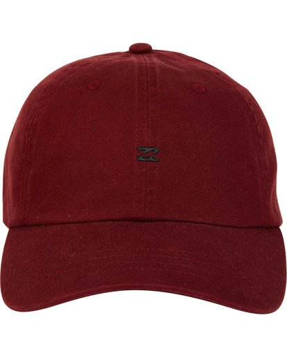 1 All Day Lad Cap Red MAHTMADL Billabong