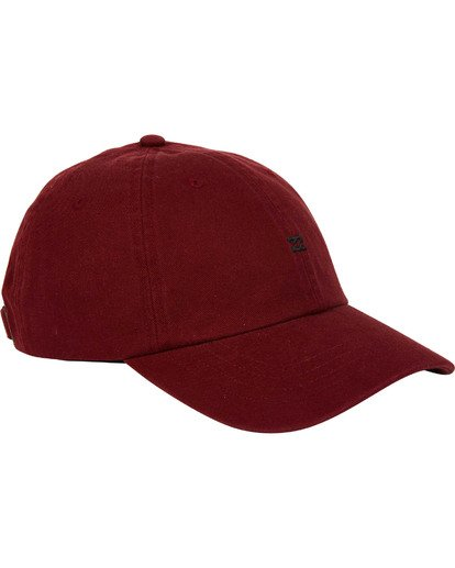2 All Day Lad Cap Red MAHTMADL Billabong