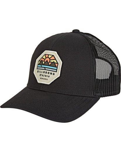 1 Walled Adiv Trucker Black MAHW1BAT Billabong