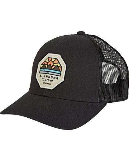 0 Walled Adiv Trucker Black MAHW1BAT Billabong