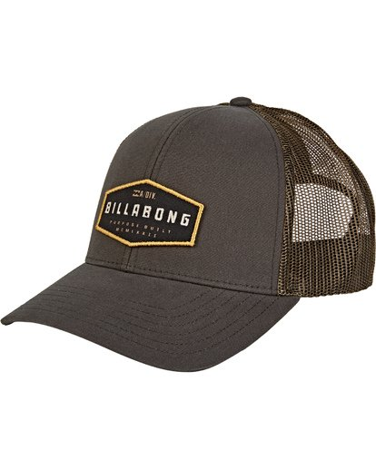 0 Walled Adiv Trucker Green MAHW1BAT Billabong