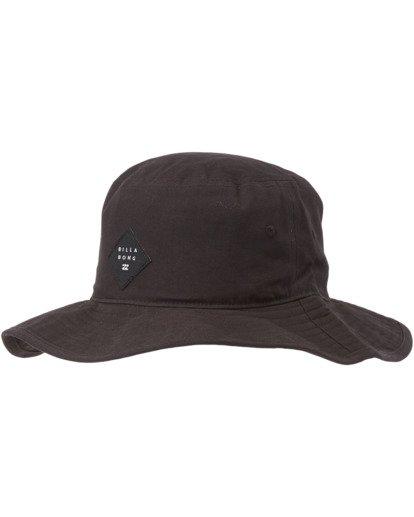 1 Big John Safari Hat Black MAHW1BBI Billabong